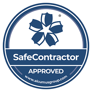 SafeContractor logo.