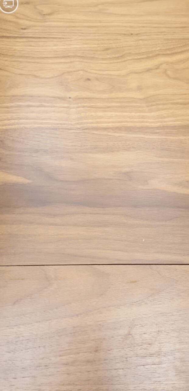 Before of damaged floor.
