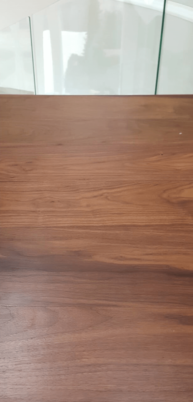 After of repaired damaged floor.